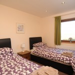 Twin Bedrooms at Faulkers Lakes in Lincolnshire