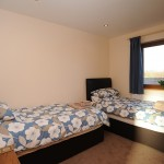 Twin Bedrooms at Faulkers Lakes