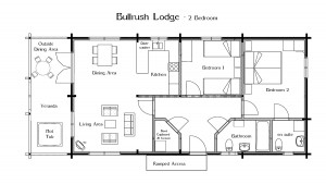 Click image for a Floorplan of Bullrush Lodge